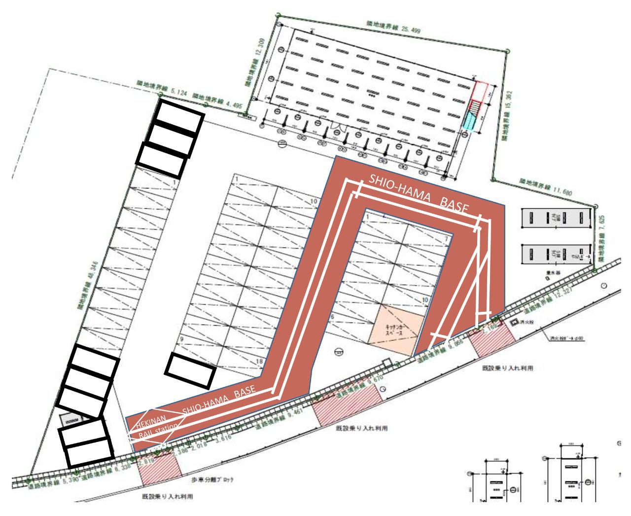 碧南レールパークをイメージした施設になる予定です(行政には申請済み)